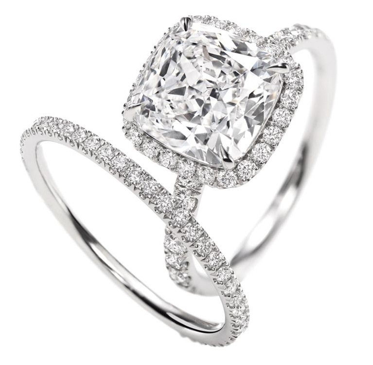 Tiny rings trend – engagement and wedding rings – Frilly ...