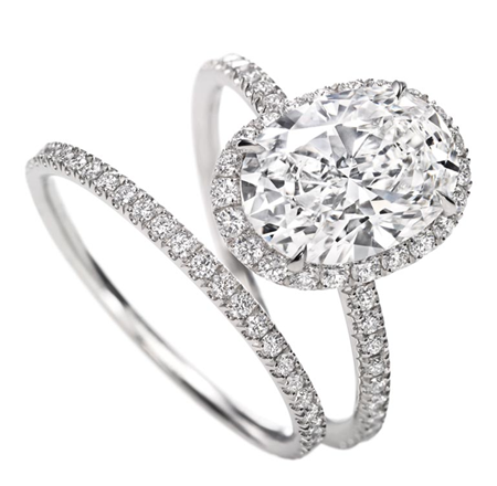 Tiny Rings Trend Engagement And Wedding Rings Frilly Pretty Things