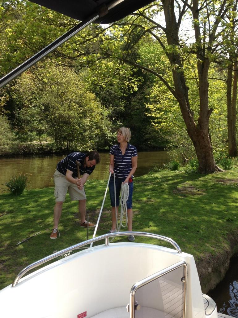 Boating Thames 2