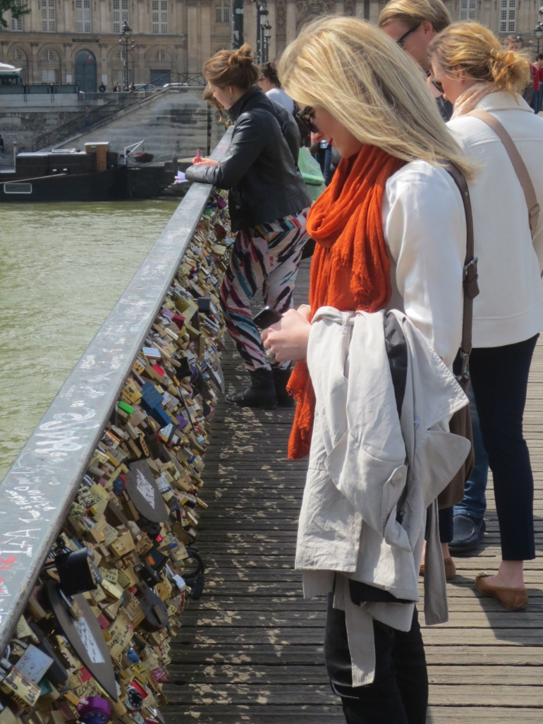 Lover's Bridge in Paris...more to come next week.