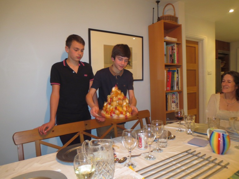 Two of our wonderful chefs.