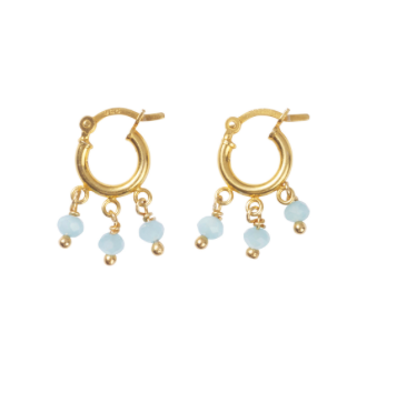 Hush Gold hoop earrings