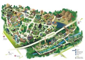 London Zoo Map