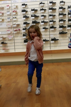John Lewis Nottingham childrens shoe fitting 2