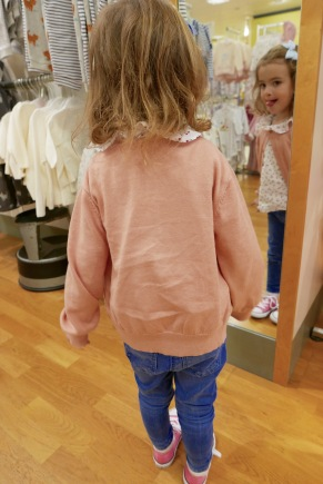 John Lewis Nottingham childrens shoe fitting 5