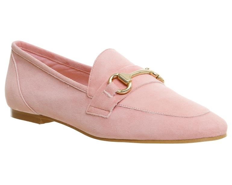 Office Destiny Trim suede loafers