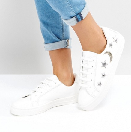 Asos moon and stars trainers