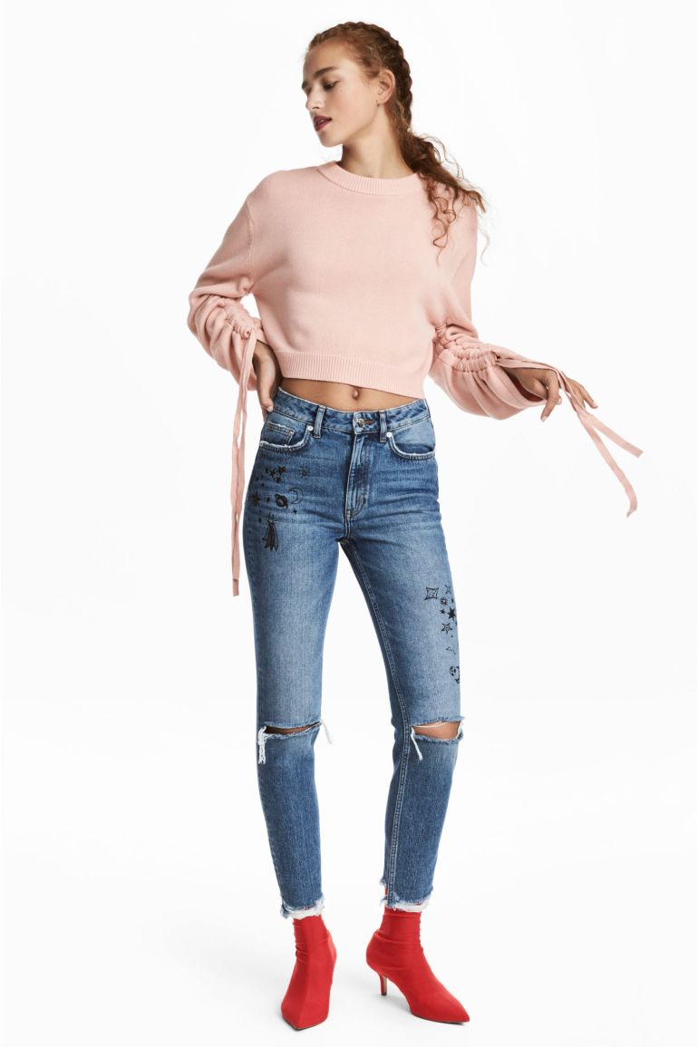 H&M moon and stars jeans